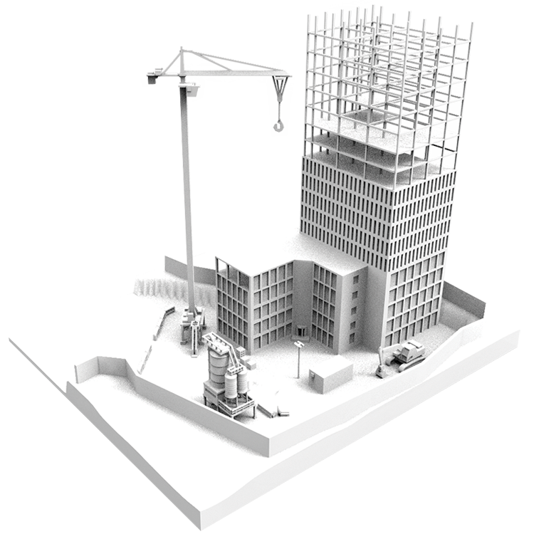 construction site models to aid construction planning